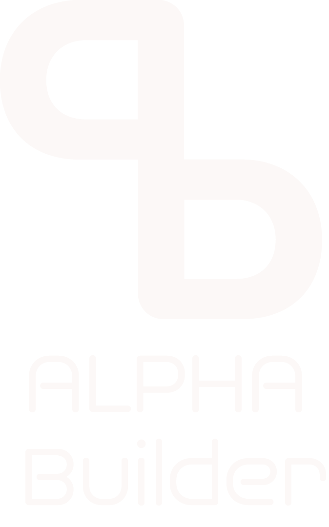 Alpha Builder Logo