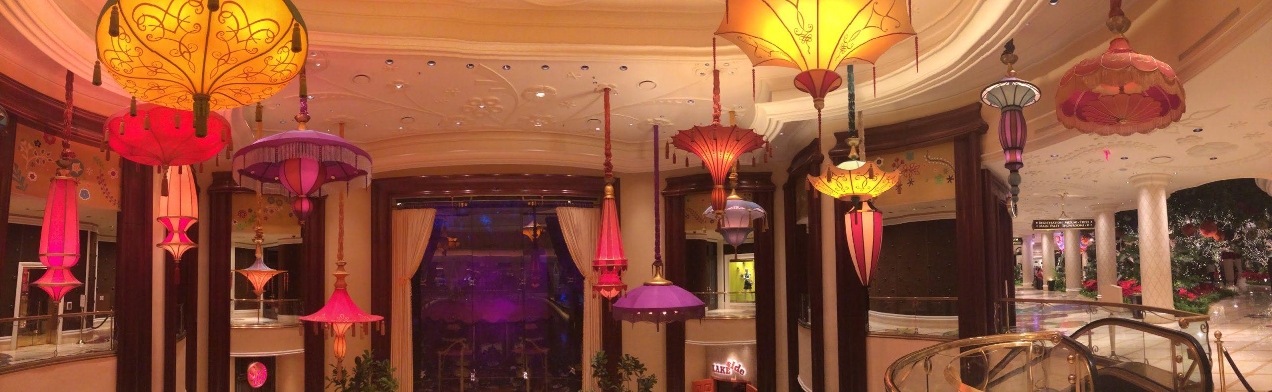 Wynn Hotel Parasols Las Vegas