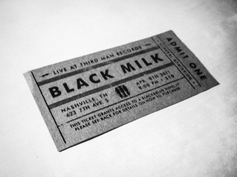 Black Milk Third Man Records
