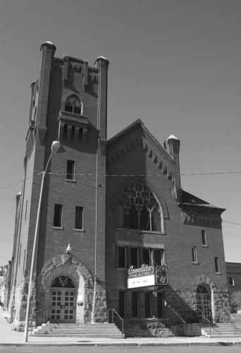 Covellite Theatre Butte
