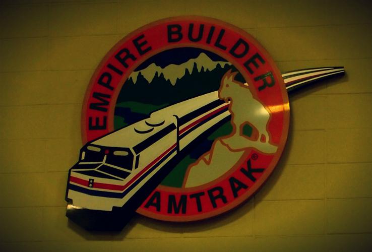 St Paul Amtrak Station Minnesota