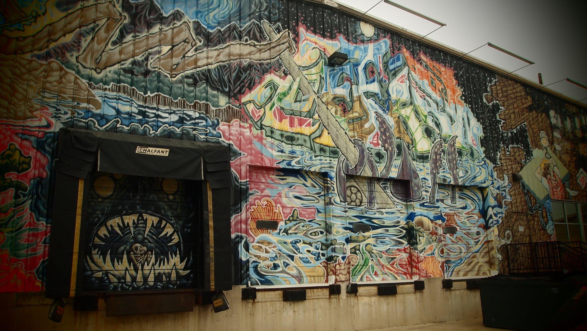 Mural Graffiti Hiawatha Iowa