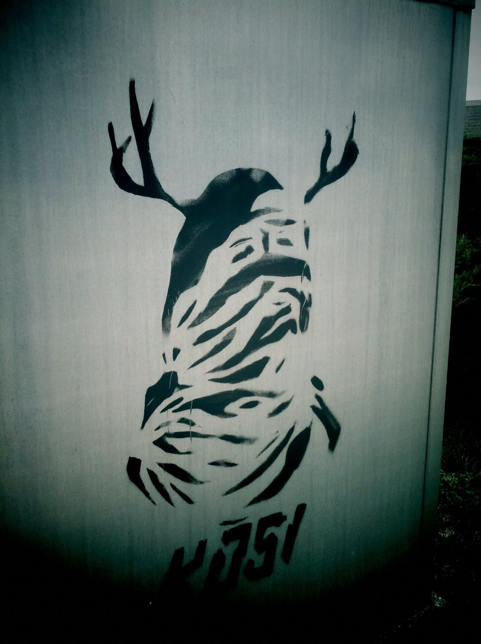 Kosi Stencil Graffiti Iowa
