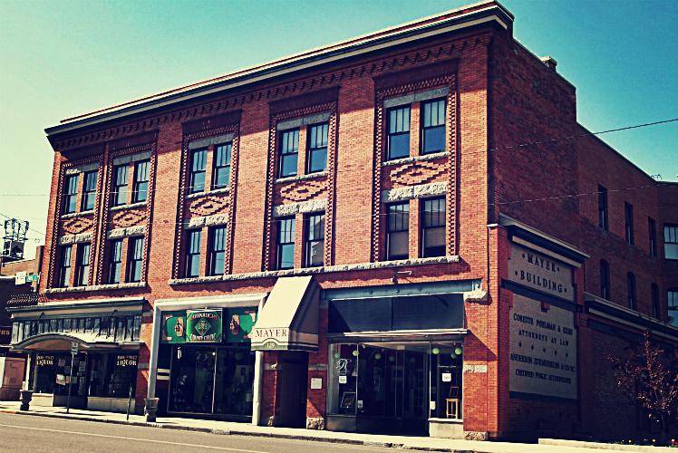 Mayer Building Butte