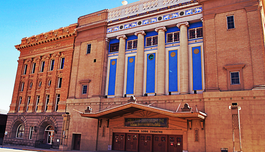 Mother Lode Theatre Butte Montana