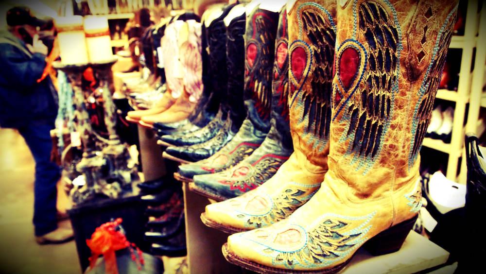 Nashville Flea Market Cowboy Boots