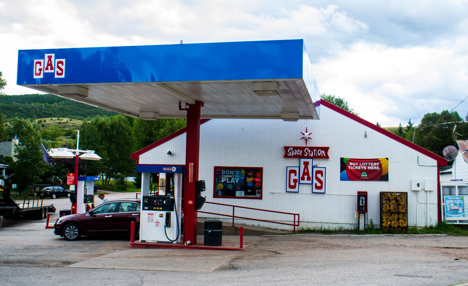 Space Station Gas Station Oak Creek Colorado