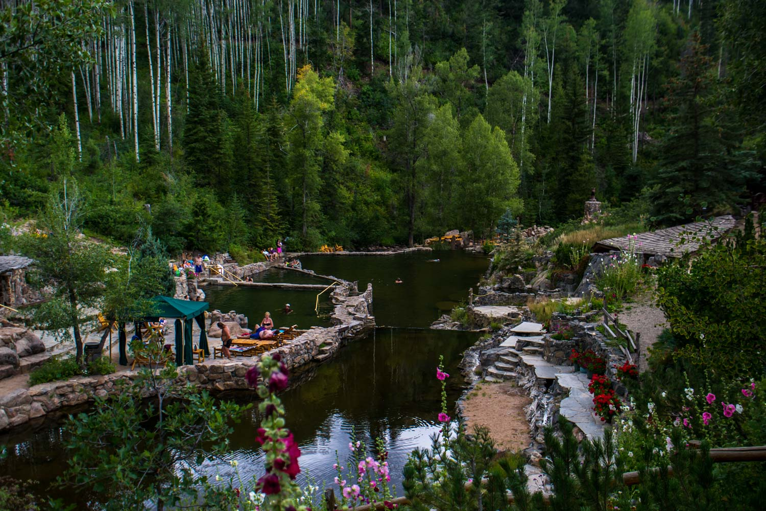 Strawberry Park Hot Springs Steamboat Springs Colorado