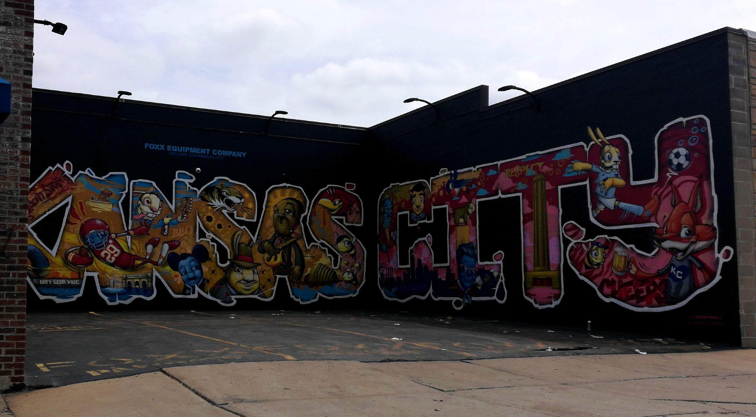 Love Kansas City Street Art Graffiti KCMO 02