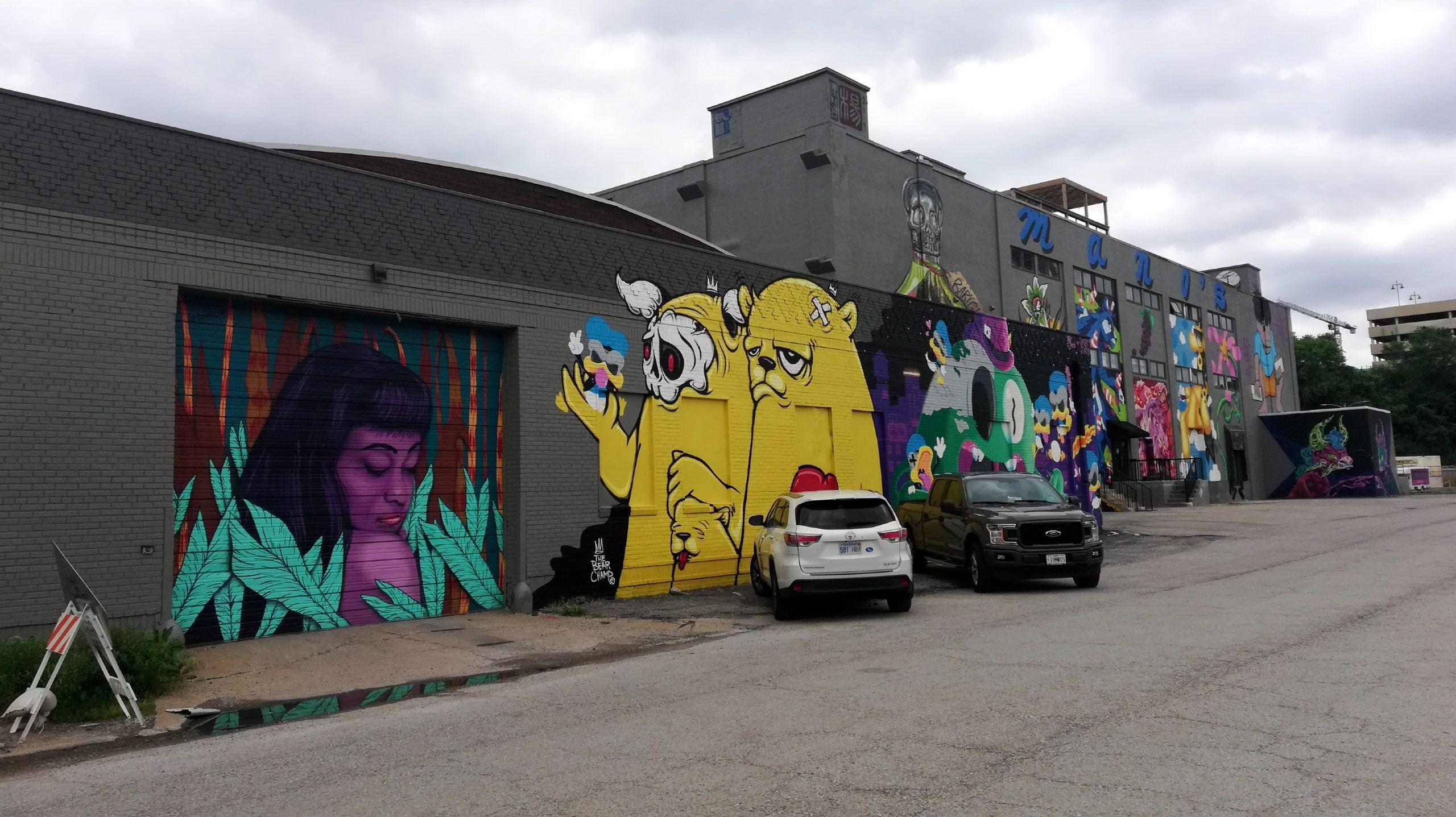 Mural Graffiti Kansas City Street Art KCMO