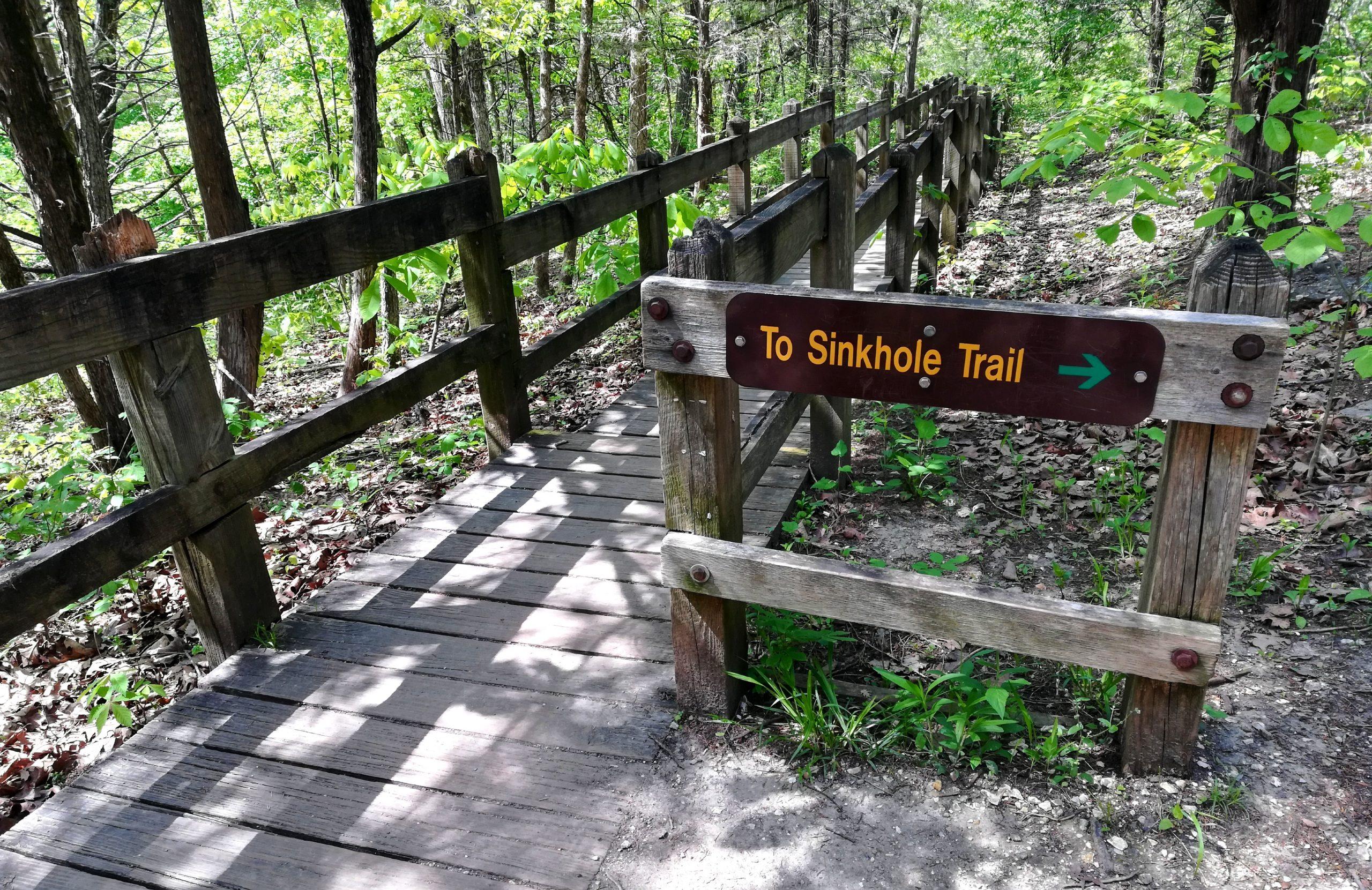 Rock Bridge Memorial State Park Missouri