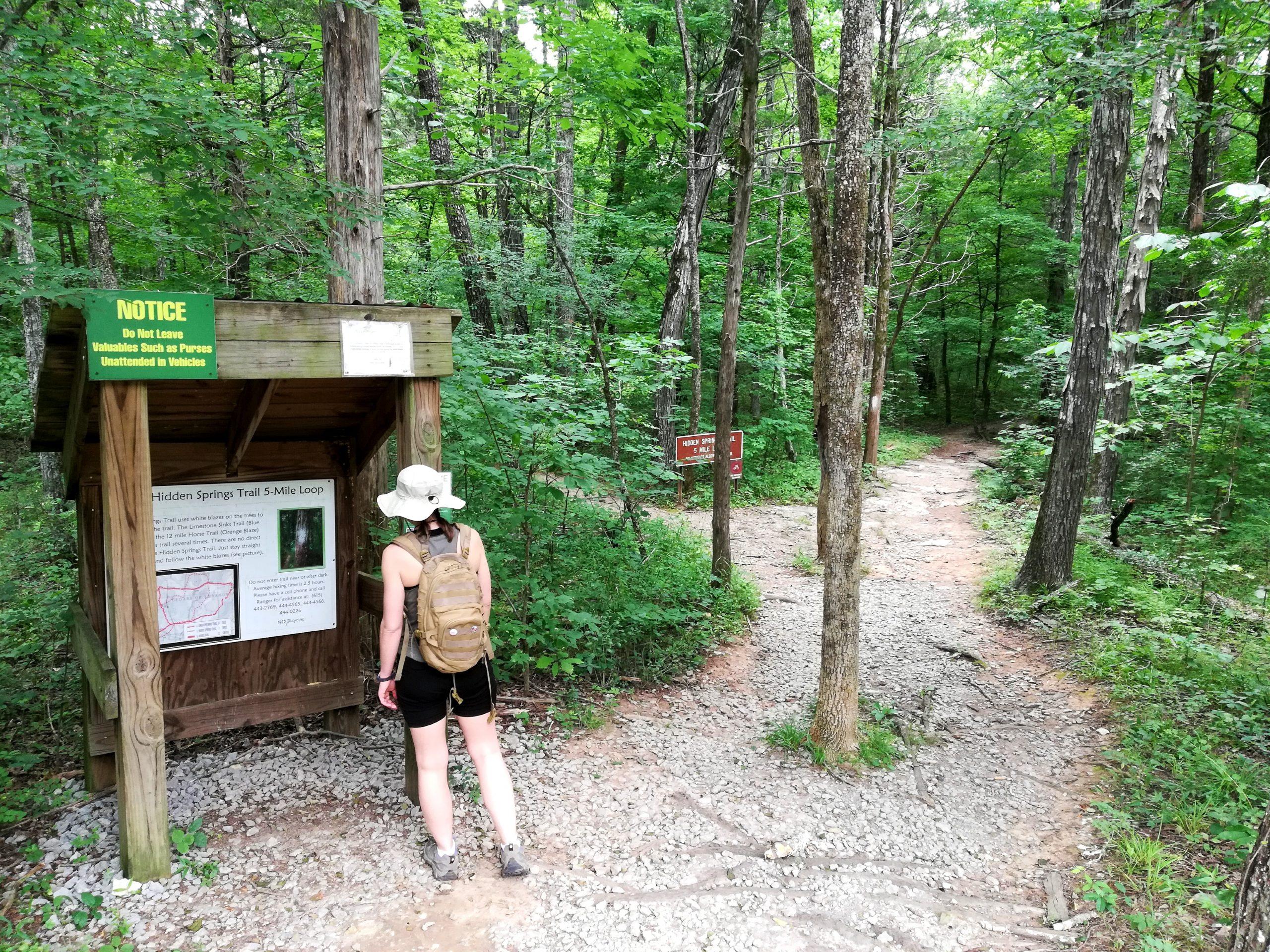 Cedars of Lebanon Hidden Springs Trail Photos