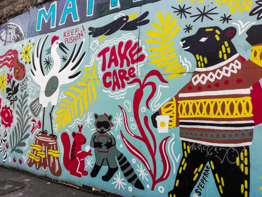 Seattle Broadway Mural Street Art Graffiti