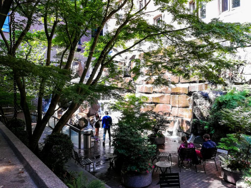 UPS Waterfall Park Seattle