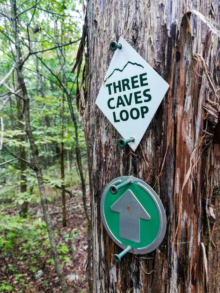 Monte Sano Nature Preserve Three Caves Loop