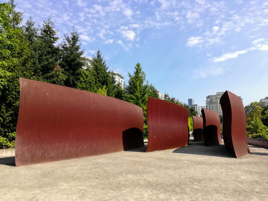 Richard Sierra Wake Olympic Sculpture Park in Seattle