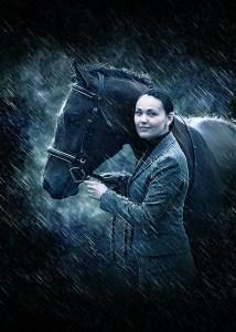 pferd_regen