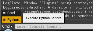 Stumbling Toward 'Awesomeness'Python Ships in Unreal Engine