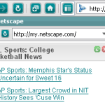 Netscape 9's Sidebar Browser