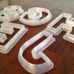 Today's Functional Print: Letter Cookie Cutters