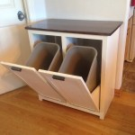 Tilt-Out Trash and Recycling Cabinet
