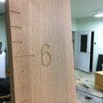 Artisanal CNC-Carved Growth Chart