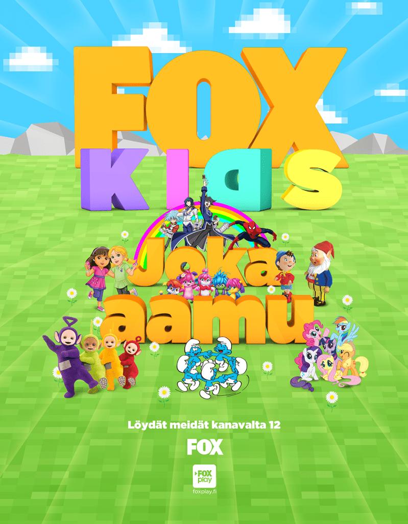 Fox Kids poster 1