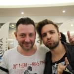 Chris Fx con Alessio Bernabei