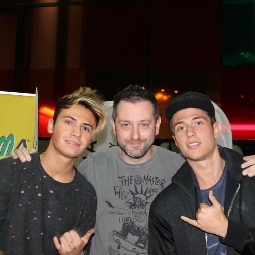 Chris Fx con Benji & Fede