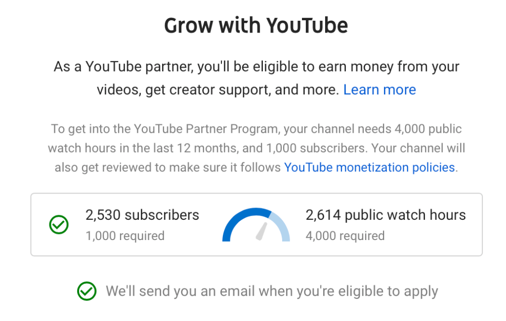 YouTube has strict monetization rules, but even then you need a huge audience to earn from it