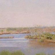 Christopher Gallego, American, b., 1959, Lake Clara, Richmond Hill, GA, detail