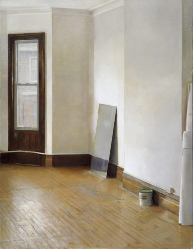 Christopher Gallego, American, b. 1959, Studio Interior, 2011, Oil Painting on canvas, 51 x 39 in.