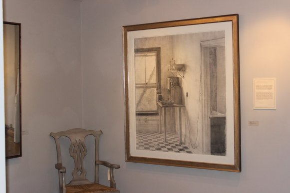 """Kitchen"", 1997, Charcoal Drawing, Artist: Christopher Gallego, American, b. 1959"
