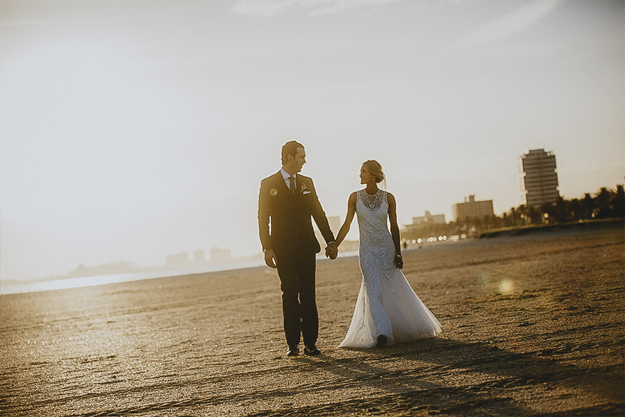 St Kilda Beach Wedding Photographer