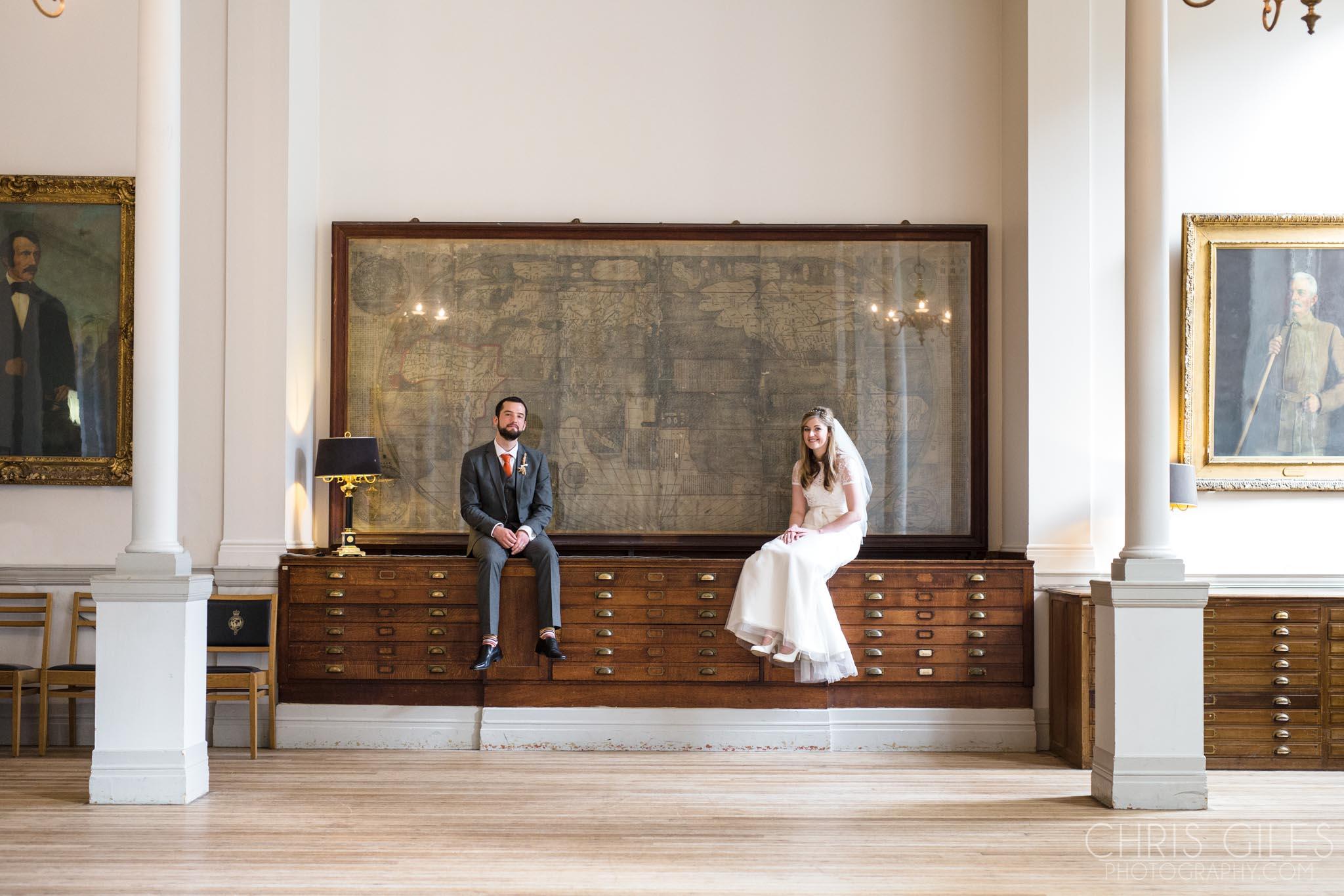 Royal Geographical Society Wedding  Chris Giles Photography