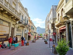 An old street in Montevideo