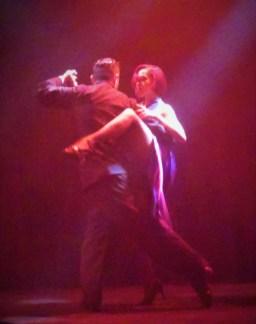 Fantastic tango dancers