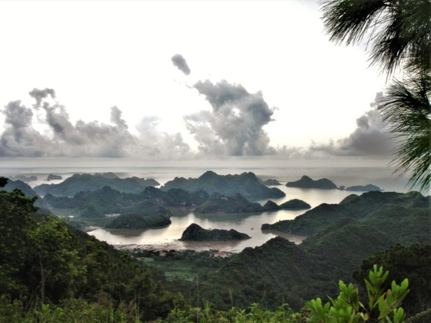 The view from Cat Ba Island