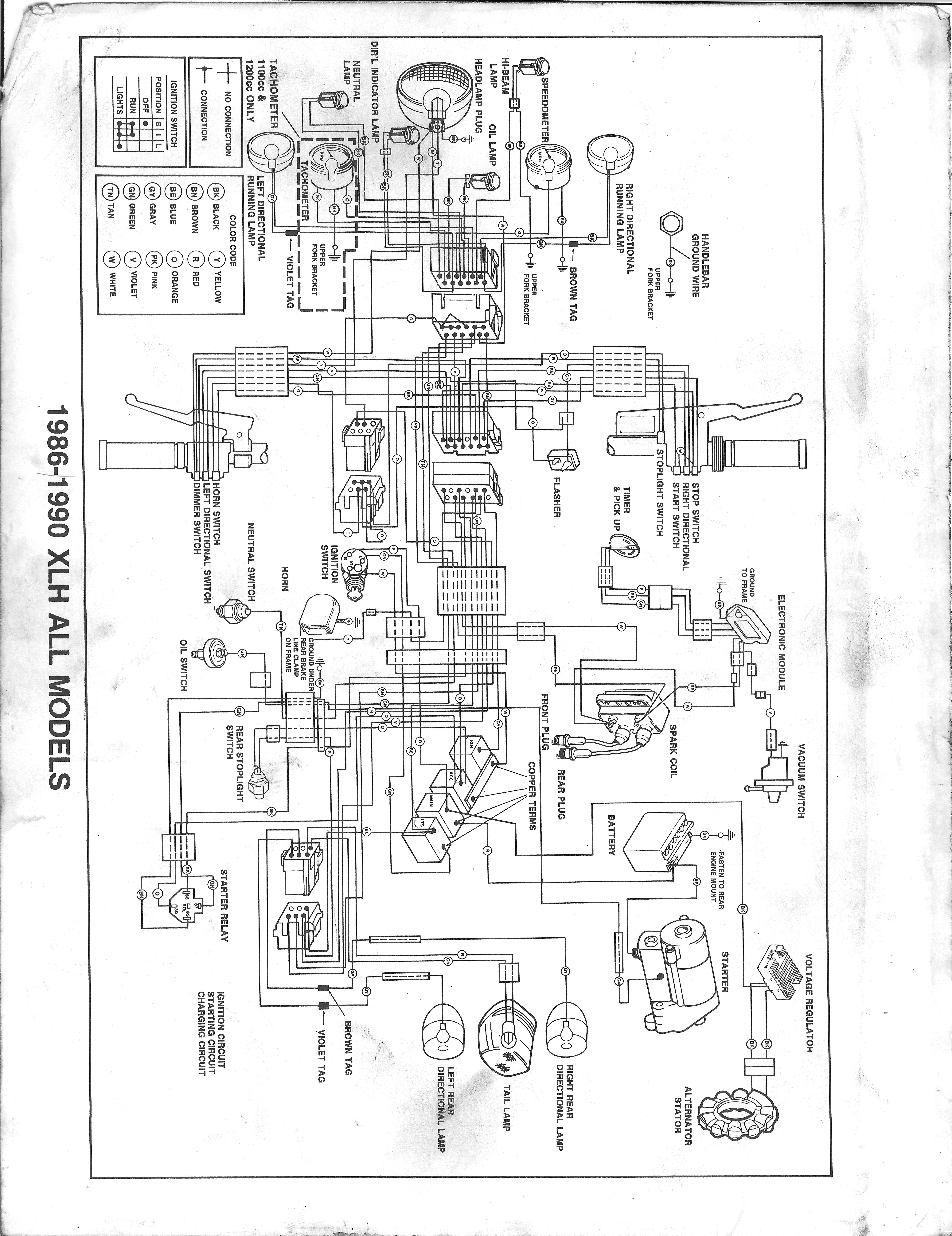 Harley Fxst Ignition Switch Wiring Diagram Mallory