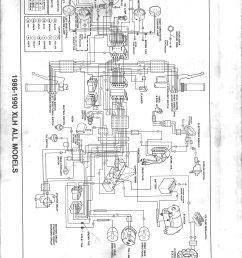 harley wiring harness diagram 1992 1200 sportster trusted wiring harley panhead wiring diagram 1988 sportster wiring [ 5004 x 6498 Pixel ]