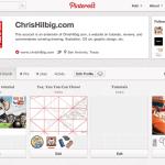 ChrisHilbig.com is now on Pinterest