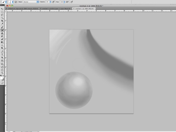 A sample of some airbrush work in PhotoShop