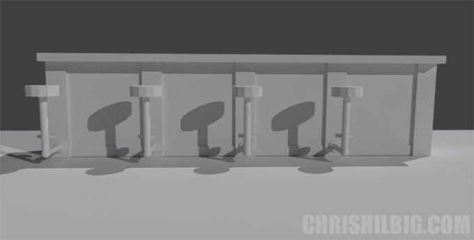 The final render in Blender 3D.