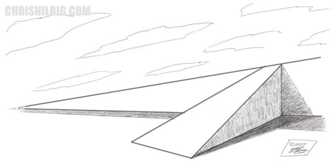 Clean up the ramp in pencil