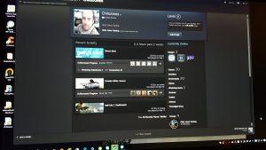 Steam Screen