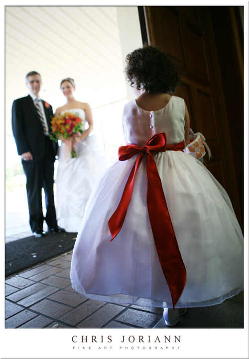 kate brian flower girl in door