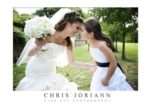bride flowergirl