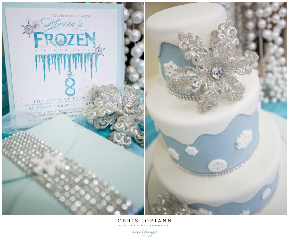 FROZEN BIRTHDAY BALL KIERRAS 8TH PALM BEACH GARDENS Kierra
