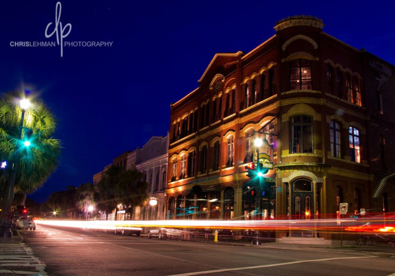 The historic Wagener Building - Charleston South Carolina. This building now houses the Southend Brewery & Smokehouse.Here is the story that I found while