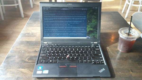 ThinkPad Writing